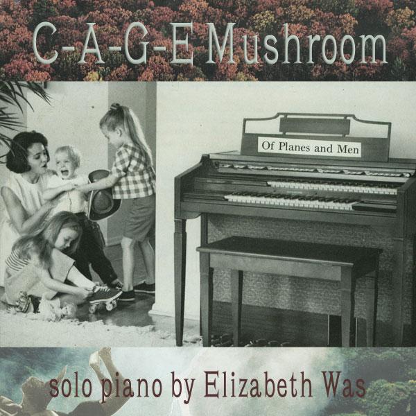 C-A-G-E Mushroom by Elizabeth Was